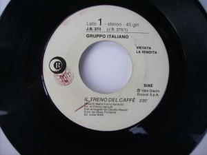 Il treno del caffe' / Two tribes (Juke box edition)