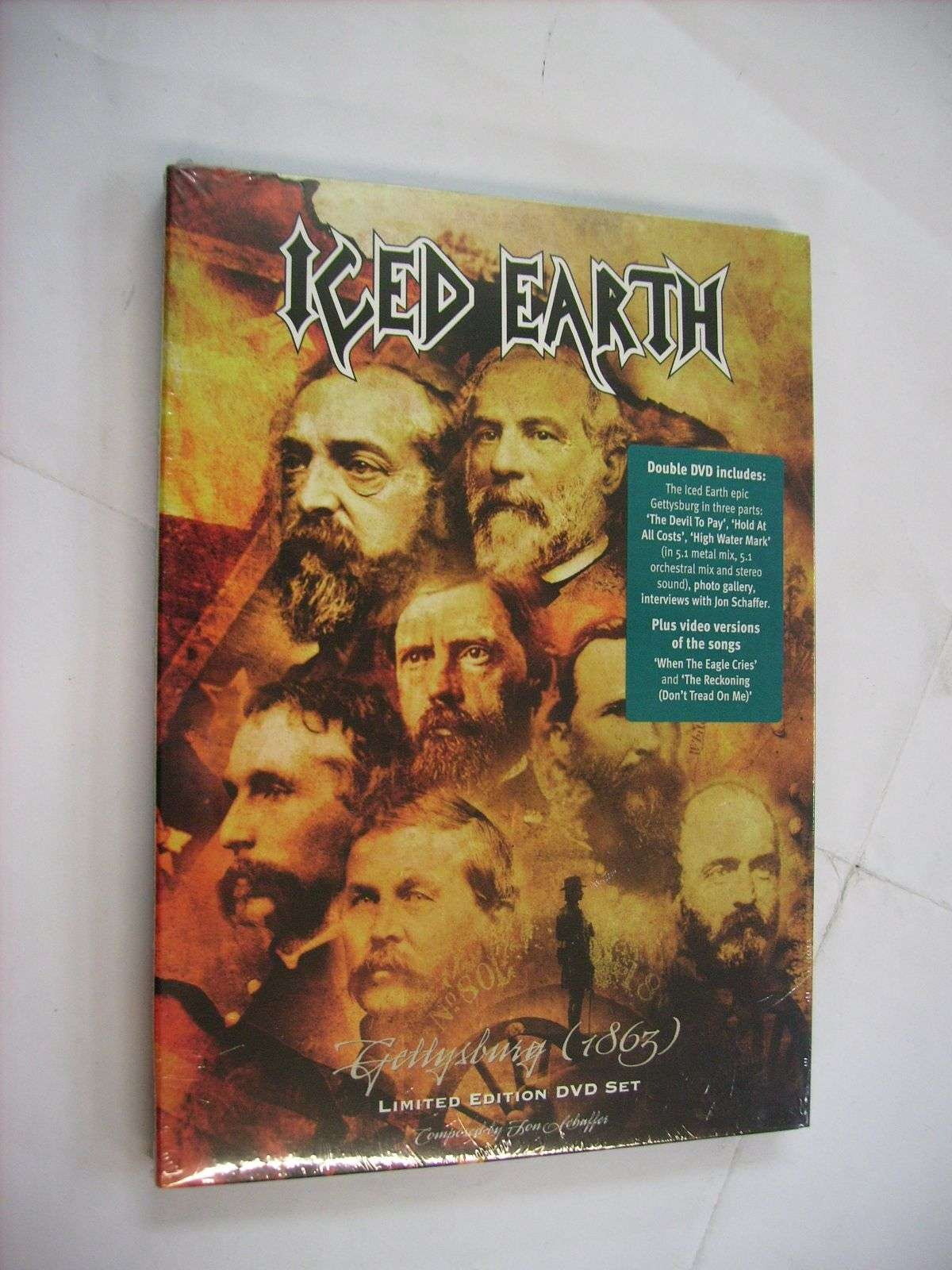 Iced Earth Records, LPs, Vinyl and CDs - MusicStack