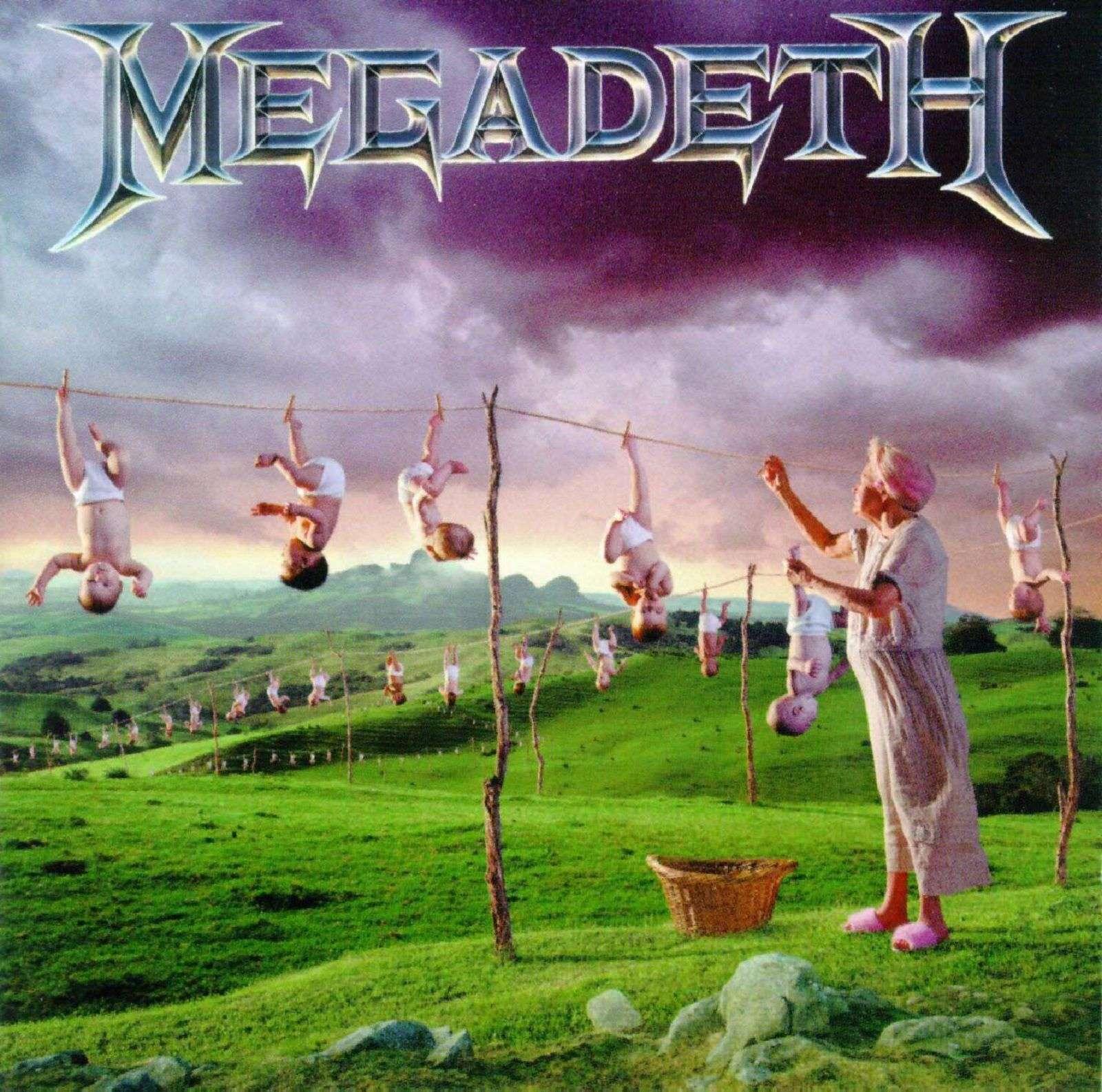 Megadeth - Youthanasia Record