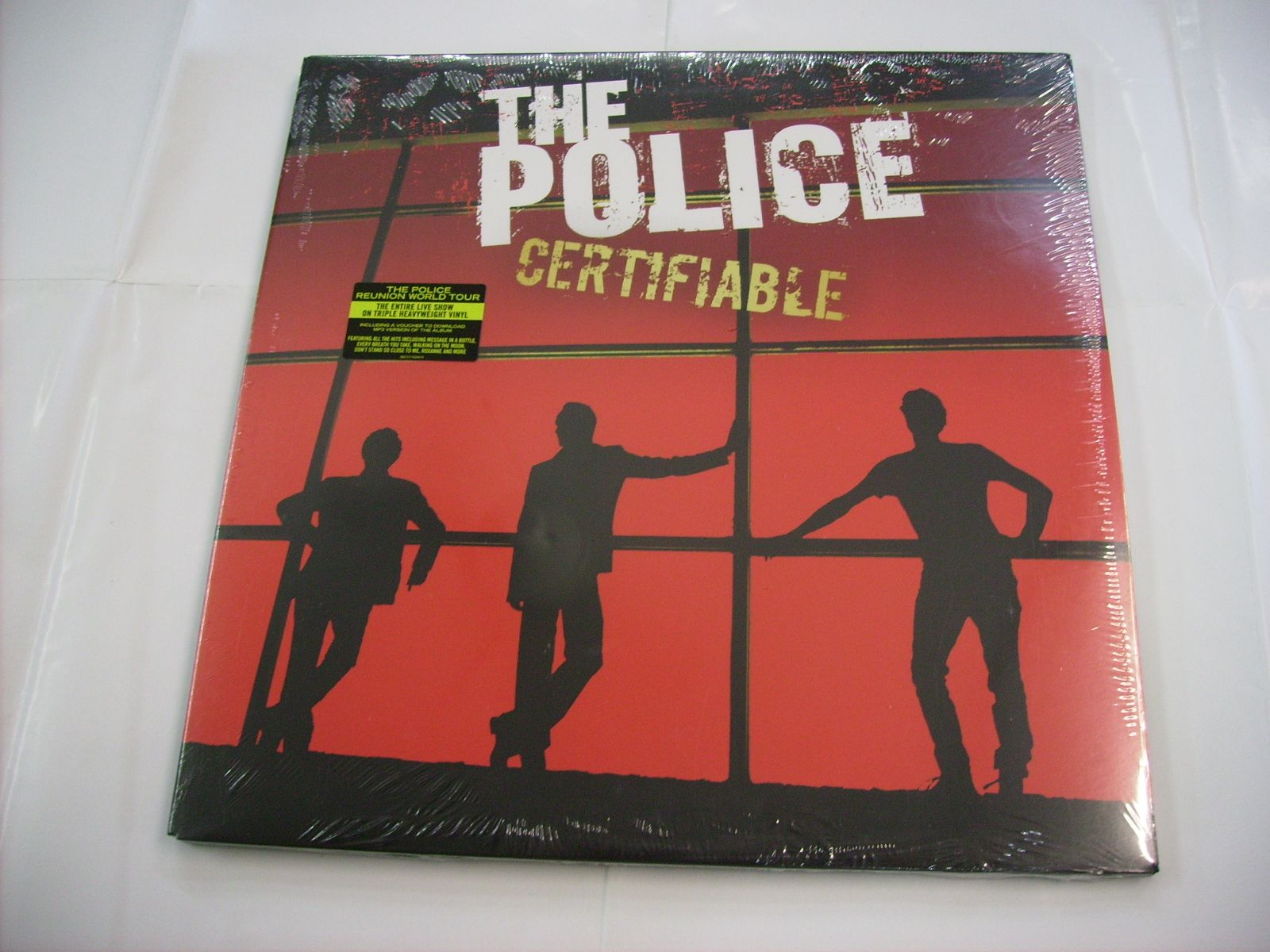 Police Certifiable Records Lps Vinyl And Cds Musicstack