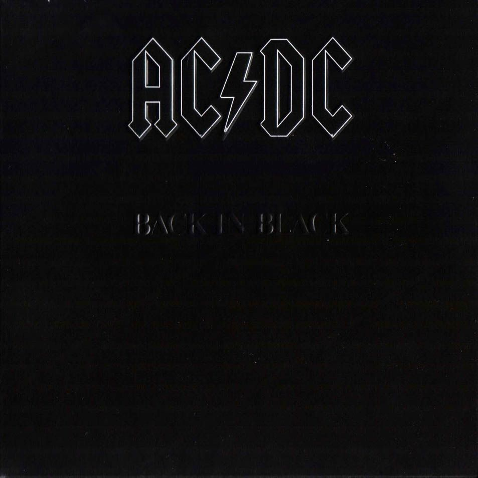 AC/DC - Back In Black (re)