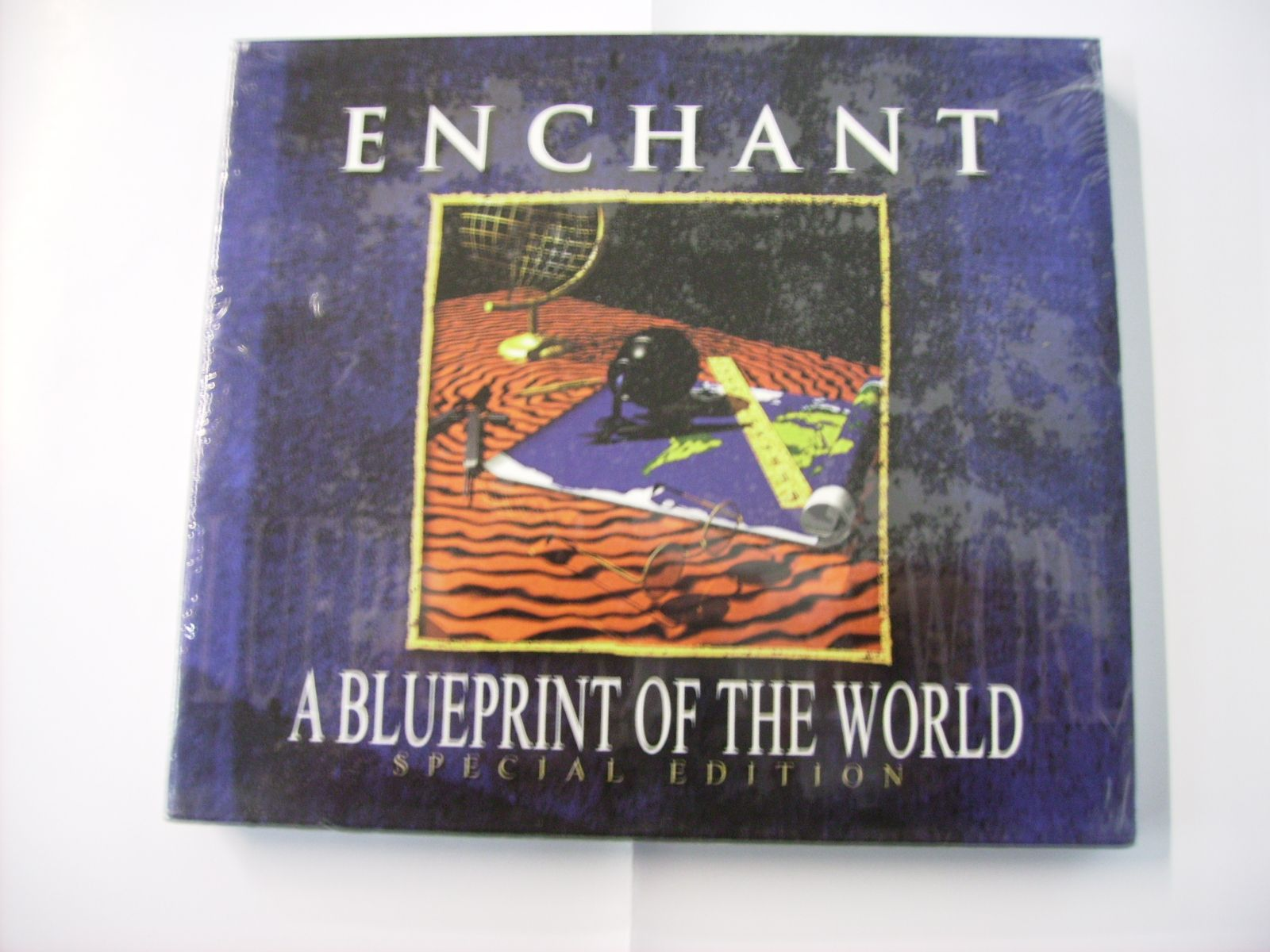 Enchant a blueprint of the world records lps vinyl and cds enchant malvernweather Choice Image