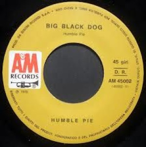 Big black dog/Strange days