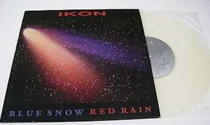 "Blue snow red rain EP (10"") (Clear vinyl)"