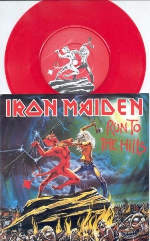 Run to the hills / Total eclipse (RED VINYL)