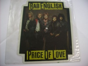 "Price of love (7"" SHAPED)"