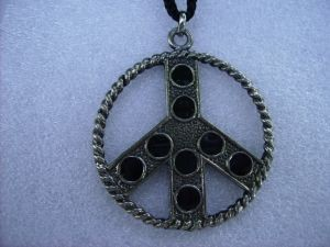 Pace-pallini neri/Peace-black dots