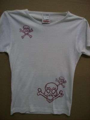 T-shirt teschi grandi