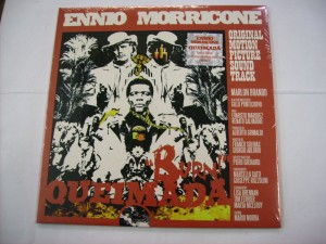 Queimada / Burn ! (ORANGE VINYL) (Ennio Miorricone)