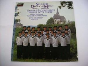 Deutsche Messe -Wiener Sängerknaben, Chorus Viennensis, Wiener Symphoniker, Uwe Christian Harrer