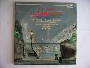 Il tabarro - Der Mantel - Giuseppe Patane'-Munchener Rundfunkorchester - Ilona Tokody - Giorgio Lamberti - Siegmund Nimsgern