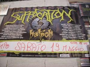 Manifesto concerto 19.05.2007 Temporock Gualtieri (RE)