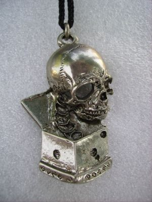 Teschio e dado/Skull and dice