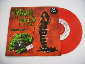 I Wanna Be Your Lush / Bed of vomit (Red vinyl)