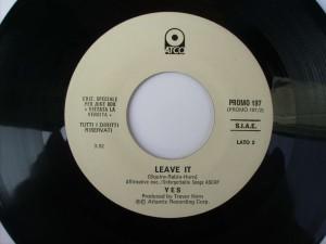 Leave it / Turn it around (Juke box edition)