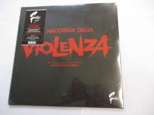 La macchina della violenza (RE) (Francesco De Masi) (Black vinyl)