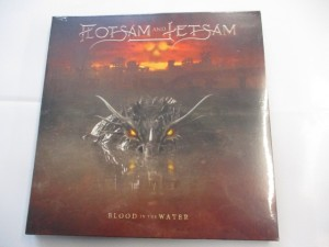 Blood in the water (Clear red vinyl)