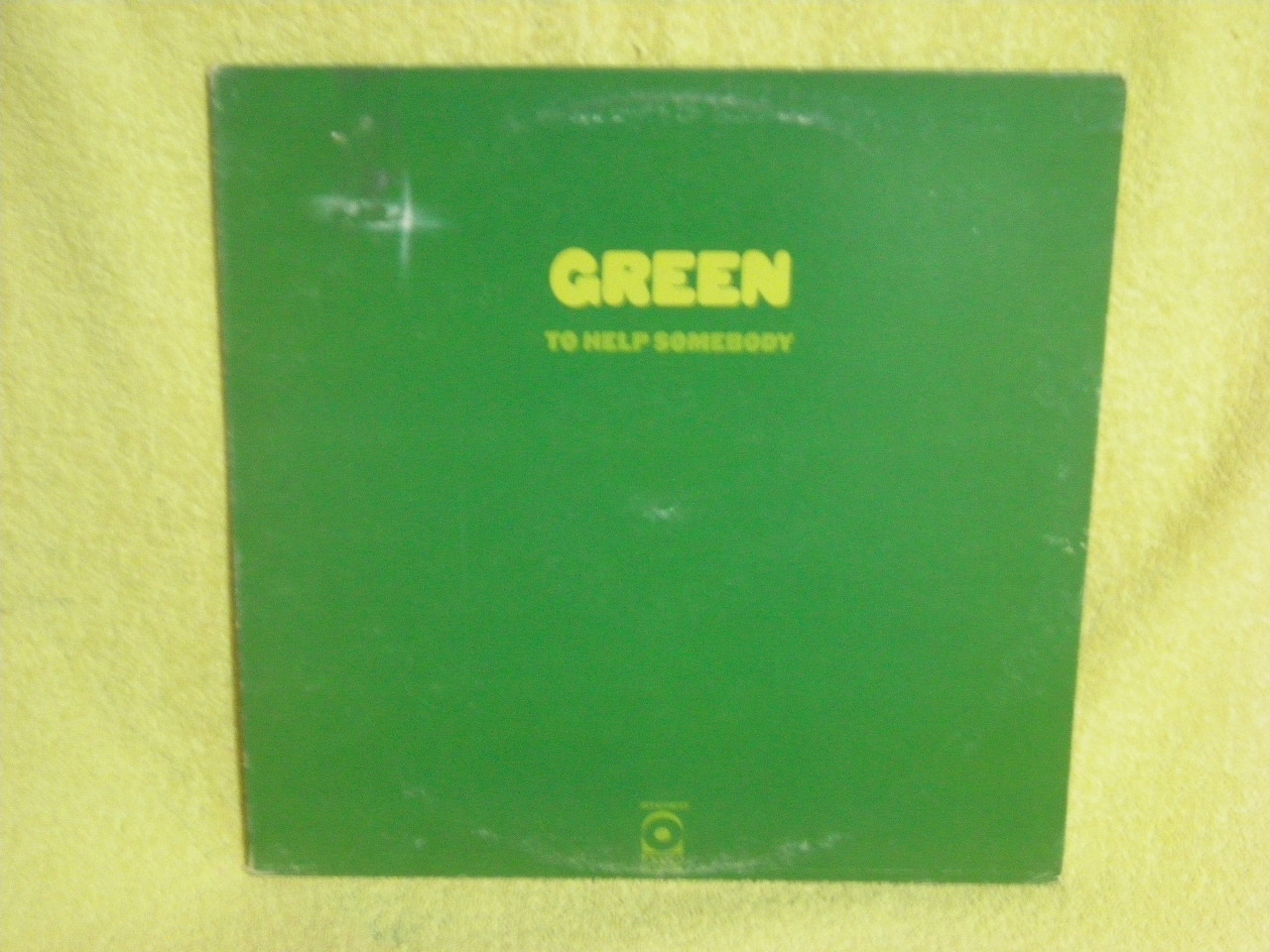 Green - To Help Somebody CD